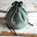 """DRAWSTRING BAG"" US Fatigue ②"