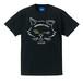 NYANP HARBOR 中洲猫Tシャツ(ブラック)
