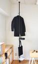 【予約販売】パーソナルクローク SET ブラック 取付寸法200~275cm[3月下旬発送予定]
