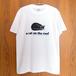 白黒猫Tシャツ - D