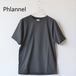 Phlannel sol/フランネル ソル・Light Suvin Cotton Unisex Tee
