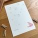 Post card / Poisson rouge(ポアソン・ルージュ)5枚セット