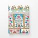 古典柄のブックカバー (単行本サイズ) Book cover(Classic pattern)