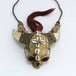ナガ族ならではのスカルヘッドのネックレス 0101CYT
