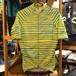 TEAM DREAM BICYCLING TEAM / Hand Stripe Jersey /Yellow/Cyan