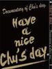 「Have a nice Chu's day.」DVD & Bru-ray