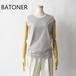 BATONER/バトナー・Multi Border Sleeveless