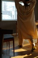 SALVATORE PICCOLO + CRISTASEYA - COTTON FLANNEL MAXI SHIRT DRESS