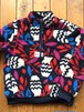 [ by Parra ] sherpa fleece pullover still life with plant