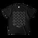 「ボウロのうた」ボウロたくさんTシャツ(ブラック)