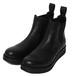 SIDE GORE BOOTS / RUDE GALLERY BLACK REBEL