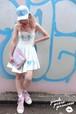 SALE♥ PPP Mermaid LUV ワンピース / ホワイト