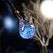 [試作品] ゆらめきのガラスペンダント20201208
