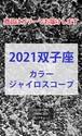 2021 双子座(4/20-5/20)【カラージャイロスコープ】