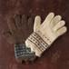 ★茶色と白い羊ポルトガル手編み手袋