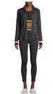 Kate Spade New York Ruffle Hem Zip Jacket