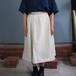 亀田縞の巻きスカート 白+黒縞 8812-5014-91