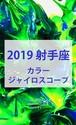 2019 射手座(11/22-12/21)【カラージャイロスコープ】
