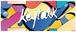 KEYTALK フェイスタオル グラフィック