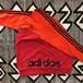 ビンテージ アディダス サイド ビッグロゴ スペシャル スウェット adidas 赤×オレンジ ツートン仕様 トルコ製