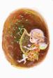 PCS007 「ハープを奏でる妖精」ポストカード12枚セット