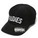 RUDIE'S HEAD GEAR / ルーディーズヘッドギア | PHAT CORDUROY PANELCAP / ファットコーデュロイパネルキャップ:Black