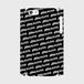 (通販限定)【送料無料】iPhone5/5s/SE_スマホケース ストライプ_ブラック