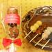 結(ゆい)トリオ赤 黒糖ピーナッツ10本 名入れオリジナルプチギフト