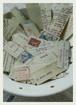 1938年/france  古いタイプライター文字のseal  70フレーク