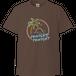 【トゥナイトトゥナイト】サンセットビーチTシャツ(ブラウン)