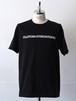 FUJITOSKATEBOARDING Print T-Shirt  Black (Name ver.)