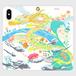 龍と貴人手帳型スマホケースiPhone