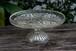 イギリス ケーキスタンド プレスガラス