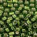 日本製シードビーズ、サイズ8/0、Moss Green