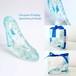 ガラスの靴リングピロー 青い花冠【結婚祝いプレゼント】無料ラッピングいたします!