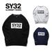 SY32 BOXロゴ裏毛トレーナー