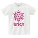ERICH / HEXAGRAM LOGO T-SHIRT WHITE