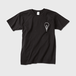 ロゴTシャツ黒 メンズ