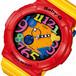 カシオ ベビーG クレイジーネオンシリーズ レディース 腕時計 BGA-131-4B5 イエロー オレンジ