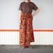 African fabric skirt