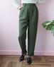 khaki tapered pants