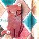 猫ブローチ