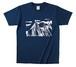 Johan Olofsson Alaska  Tシャツ パープルネイビー サイズS