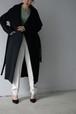you ozeki / cashmere stand collar coat