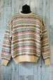 冬の定番!ノルディック柄ウールセーター RankC☆アメカジファッション
