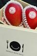 宮古産アップルマンゴー1kg「秀」(ギフトセット)(桐箱)