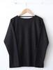 FUJITO L/S Boatneck Shirt Charcoal,Khaki,White