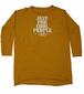 【JTB】JUST FOR ロングスリーブTシャツ【マスタード】イタリアンウェア【送料無料】《M&W》