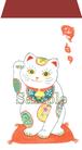 ポチ袋《招き猫》