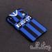 「SERIEA」インテルミラノ 2019-20シーズン ホームユニフォーム フロント テーマケース iPhoneX iPhone8